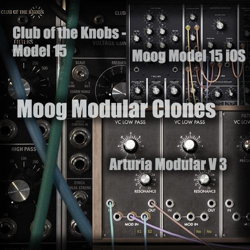 Moog Modular Clones im Vergleich