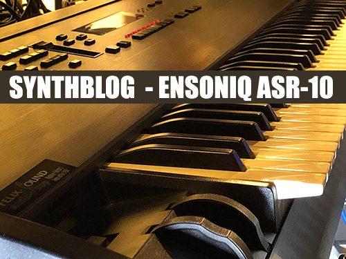 ENSONIQ ASR-10 Synthblog