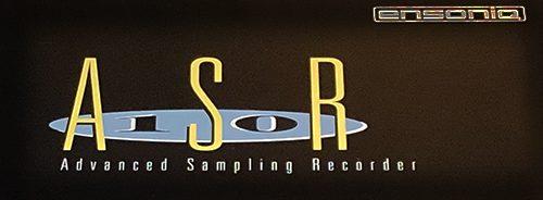 ENSONIQ ASR-10 - Logo Close