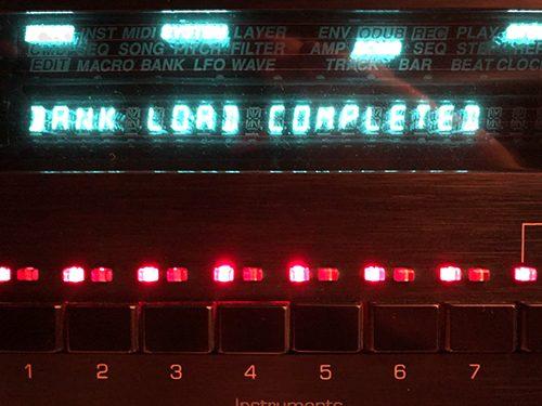 ENSONIQ - ASR-10 - der Synthesizer im Sampler - Bank komplett geladen